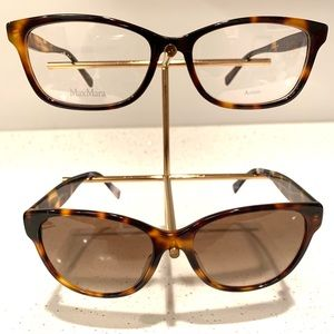 MaxMara MM1349 and Leisure sunglass tortoise